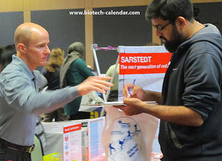 Sarstedt Rutgers University New Brunswick Bioresearch Product Faire™ Event