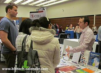 Researchers at last year's Biotechnology Vendor Showcase at UCSF