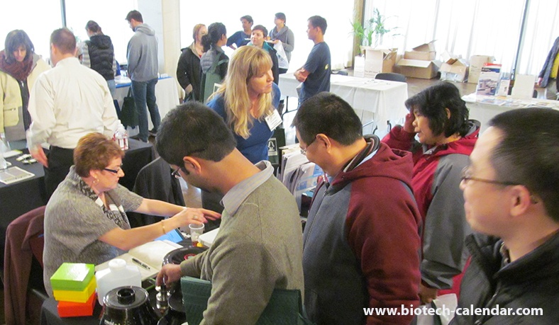 Texas researchers discover new laboratory equipment at a past BioResearch Product Faire Event.