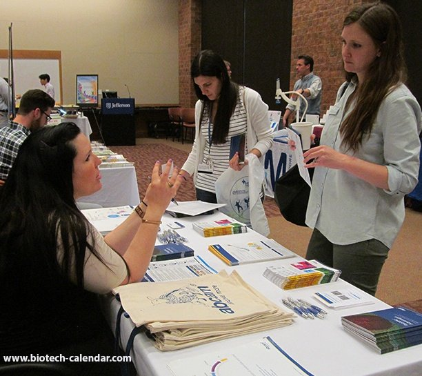 sell lab equipment at Thomas Jefferson bioresearch product faire