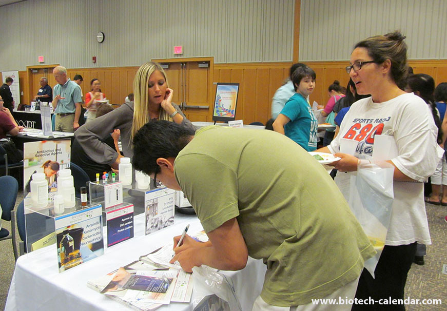 sell laboratory products at University of Michigan bioresearch Product faire