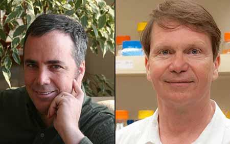 Researchers Bernhard Palsson, PhD and Victor Nizet, MD